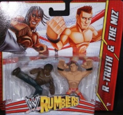 R-TRUTH & THE MIZ - WWE RUMBLERS TOY WRESTLING ACTION FIGURES