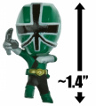 Green Samurai Ranger ~3.6cm Mini-Figure + 3 Trading Card