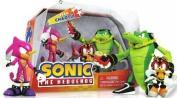 Sonic The Hedgehog Team Chaotix Figures Set Vector Espio Charmy Bee