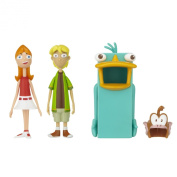 Phineas And Ferb Figure Pack Assortment 3 Candace And Jeremy
