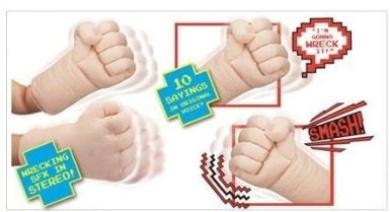 Wreck-it Ralph Wreck-It Ralph Wrecking Fists
