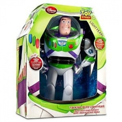 Toy Story Talking Buzz Lightyear Action Figure -- 12''