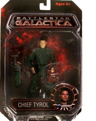 Battlestar Galactica Series 1 _ Chief Tyrol (Autographed) Action Figure