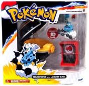 Pokemon TOMY Catch 'n' Train Poke Ball Thundurus & Luxury Ball