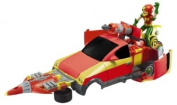 Teen Titans T-Vehicle Robin with T-Cycle and Turbo