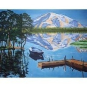 Reeves Large Acrylic Painting By Numbers - Lake
