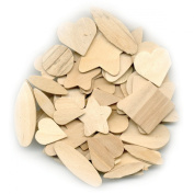 Craftwood Woodables 50/Pkg-Natural