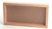 Darice 9162-73 Pine Wood Collection Box with 1.9cm Moulding
