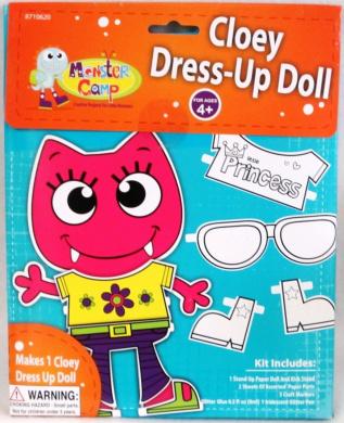 Cloey Dress-Up Doll