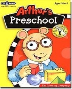 New Learning Company Arthur's Preschool Discover 2 CD-Roms Packed With 9 Learning Exercises