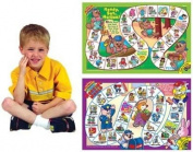 Say and Do® Vocabulary Laminated Games - Super Duper Educational Learning Toy for Kids