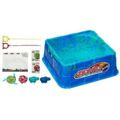 Recommended Age: 8 Years And Up - BEYBLADE XTS Half Pipe Battle Set