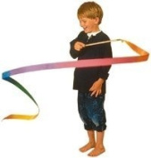 Twirling Ribbons - Large Rainbow Ribbons