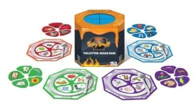 Silly Soup Board Game