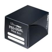 Ultra Pro Black Small 120 Ct Pro Dual Deck Box Multi-Coloured