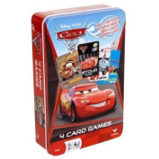 BuySeasons 205266 Disney Cars 2 Card Game Tin