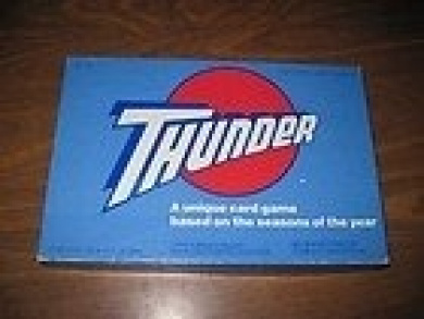 THUNDER: A unique card game based on the seasons of the year