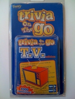 Trivia On the Go - TV edition