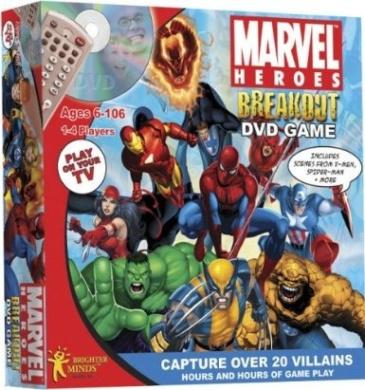 Marvel Heroes DVD Game