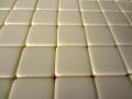 50 Blank Ivory Dice 16MM