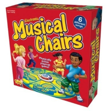 International Playthings iPlay Action Games-Electronic Musical Chairs