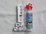 Cow Dice Game (Black)