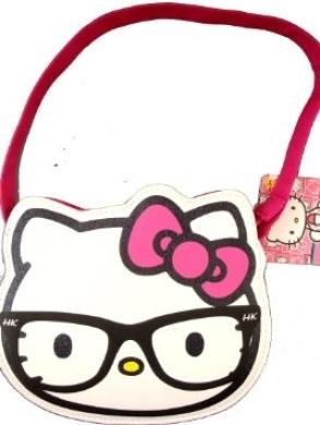 Sanrio Hello Kitty Cut Heads Small Tote Bag White