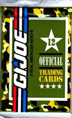 G.I. Joe 12 Official Trading Cards