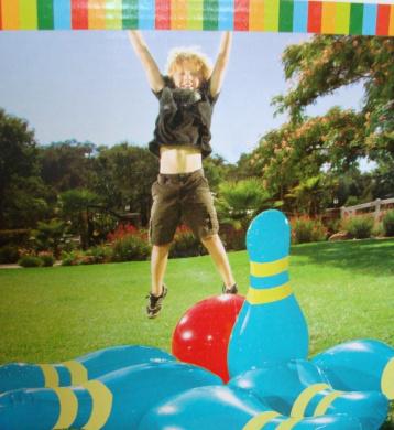 Jumbo Inflatable Bowling