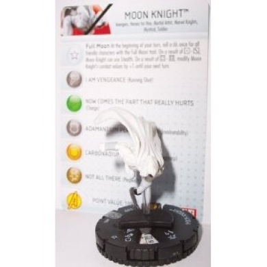 Heroclix Marvel Amazing Spider-man: Moon Knight 032 with Character Card