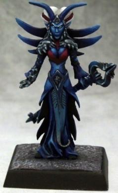 Pathfinder Miniatures: Alicavniss Vonnarc, Drow Conjurer