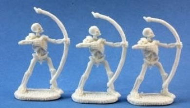 Skeleton Archers (3) Miniatures by Reaper