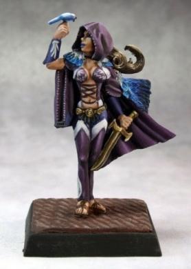 Pathfinder Miniatures: Lady Moray, Bard Multi-Coloured