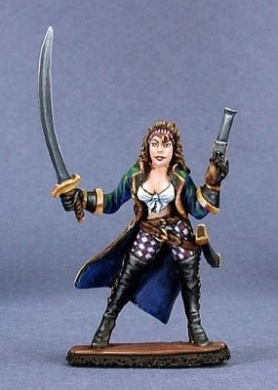 Cyndria Stormcaller, Female Pirate Captain (OOP)