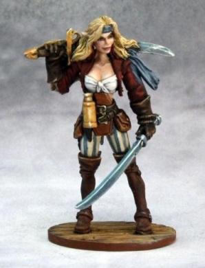 Dark Heaven Legends: Finaela, Female Half Elf Pirate