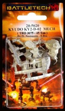 BATTLETECH 20-5020 Kyudo KY2-D-02