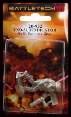 BATTLETECH 20-932 Vindicator VND-1R