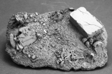 Graveyard Vignette Base