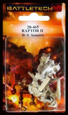 BATTLETECH 20-465 Raptor II RPT-3X