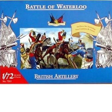 1/72 Battle of Waterloo French Artillery