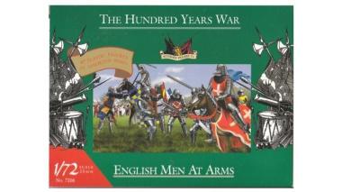 1/72 Hundred Years War English Men At Arms
