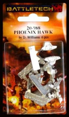BATTLETECH 20-988 Phoenix Hawk PXH-4L