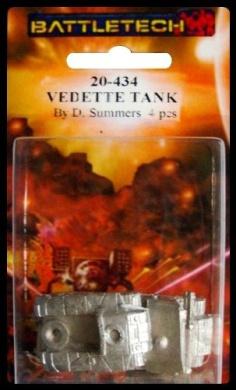 BATTLETECH 20-434 Vedette Medium Tank (2) RAC