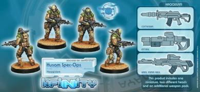 Infinity: Haqqislam - Husam Spec-Ops