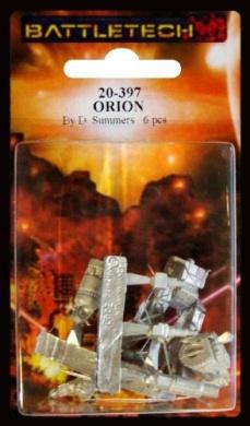 BATTLETECH 20-397 Orion ON1-M