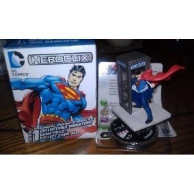 DC Heroclix 10th Anniversary Superman #21 counter top