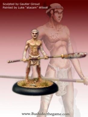 Bushido Miniatures - The Savage Wave: Oni human slave