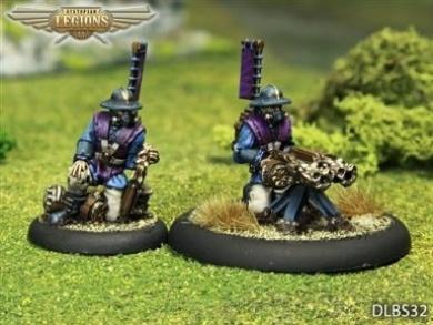 Dystopian Legions: Empire of the Blazing Sun - HMG & Crew