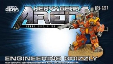 Heavy Gear Arena: Engineering Grizzly Pack