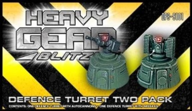 Heavy Gear Blitz: Defence Turret Two Pack